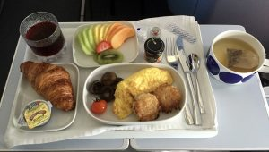 breakfast on Finnair