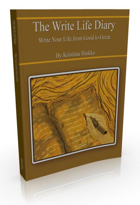 Write Life Diary.K.Hiukka3DCover
